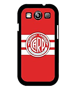 Football Club River Plate - Funda Case For Galaxy S3, Charming Pattern Rugged + Unique Anti Dust Slim Fit Hard Plastic Skin Shell For Samsung Galaxy S3 i9300
