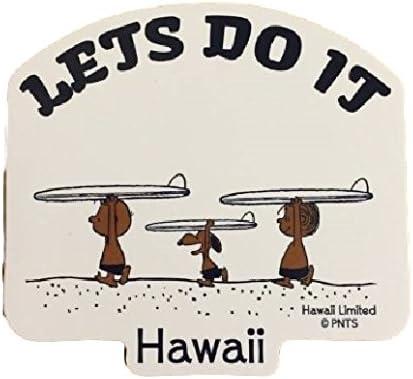 ハワイ Moni Honolulu 日焼けスヌーピー ステッカー 14
