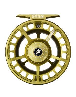 セージSpectrum Lt Fly Fishing Reel ライムグリーン 5-6 Wt.