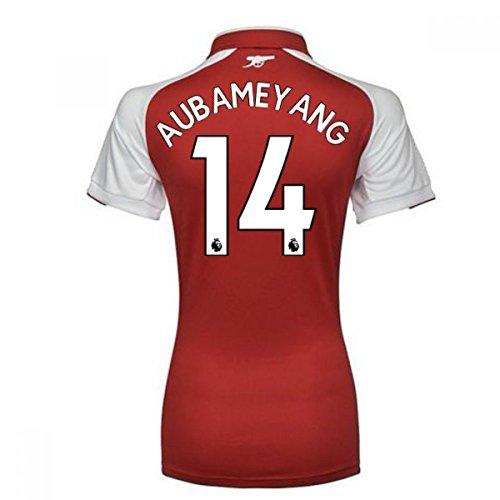 礼拝餌防腐剤2017-18 Arsenal Womens Home Shirt (Aubameyang 14)