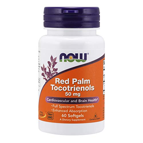 Red Palm Tocotrienole, 50 mg, 60 Softgels - Now Foods