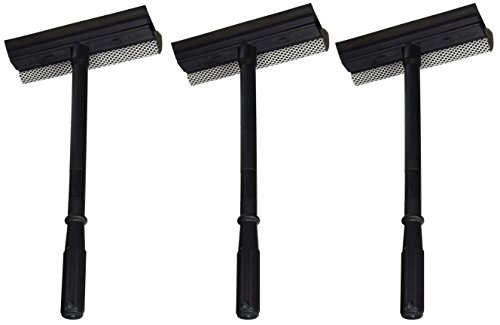 Price comparison product image 3 Pack of Black Duck Brand Window and Windshield Cleaning Sponge and Rubber Squeegee (Set of 3)