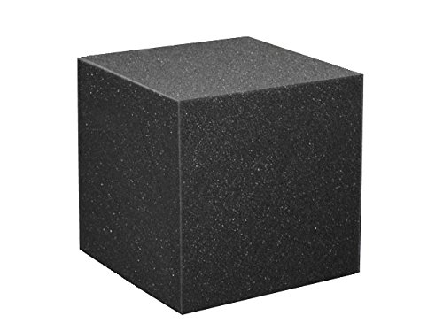 "Foam Pits Cubes/Blocks 108 pcs. 4""x4""x4"" Charcoal (1546) Flame Retardant Pit Foam Blocks For Skateboard Parks, Gymnastics Companies, and Trampoline Arenas"