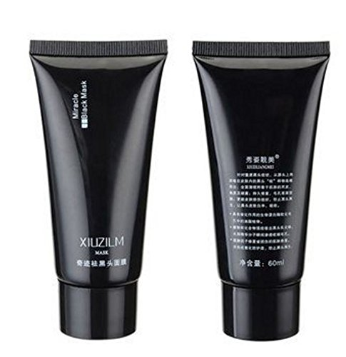 xiuzilm Blackhead Máscara Barro Nariz cara negro Clean Pore Peel Off Remover profundo Cleaner Purifying por saturday24