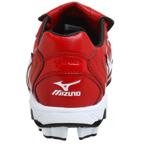 Mizuno Mens 9-spik Serien Låg G4 Cleat, Röd / Vit, 10,5 M