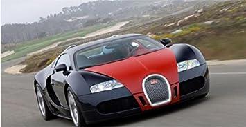 Amazon Com Rc Car Drift 1 10 Oversized Bugatti Veyron Remote
