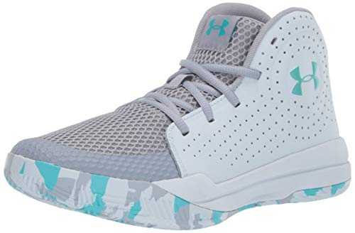 Under Armour Unisex-Kid's Pre School Jet 2019 Basketball Shoe, Blue Heights//Moonstone Blue, 7 (The Best Cheap Basketball Shoes)
