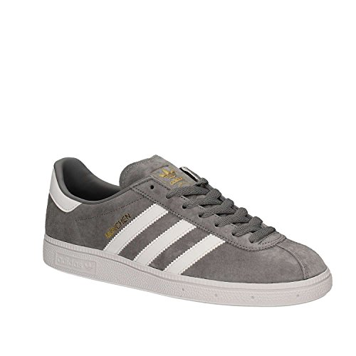 ADIDAS MENS SHOES MUNCHEN Gray DFDZE4EJA