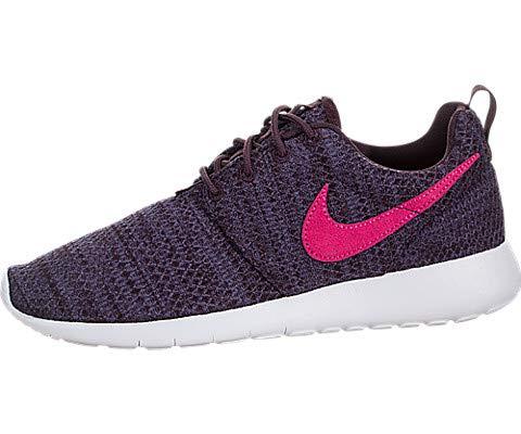 Nike Kids Roshe One (GS) Port Wine/Pink Prime Running Shoe 7 Kids US (Nike Roshe Run Siren Red For Sale)