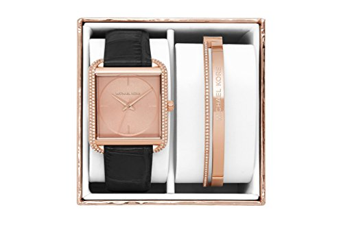 (Michael Kors Women's Lake Rose Gold-Tone Gift Box Set)
