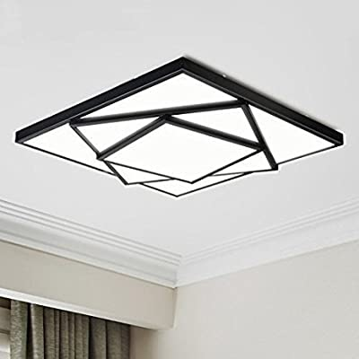 EdiMoM Brand; Modern LED Ceiling Lights Fixture Flush Mount Lamp 36W(25''X25'') Bulbs Inclued