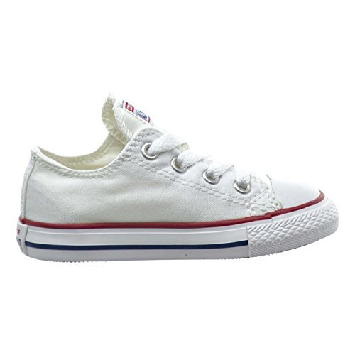 Converse Chuck Taylor All Star OX Toddler Shoes Optical White 7j256 (4 M US) (All Star Converse For Baby Boy)
