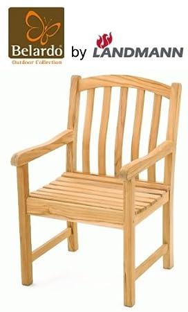 Belardo by Landmann Jardín Sillón teca Madera silla de jardín ...