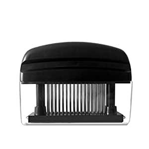 Aprince Meat Tenderizer 48 Stainless Steel Blades (Black)