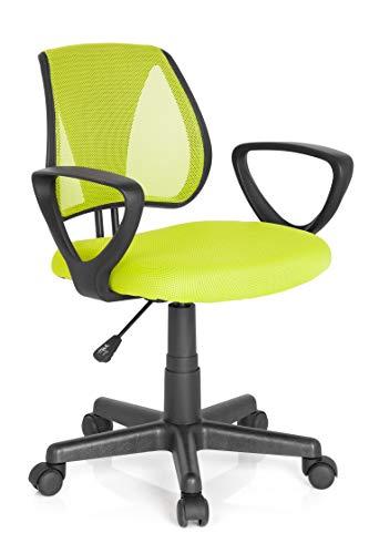 Hjh Office Kiddy Cd Silla de oficina infantil Verde (Green) 40x53x92 cm