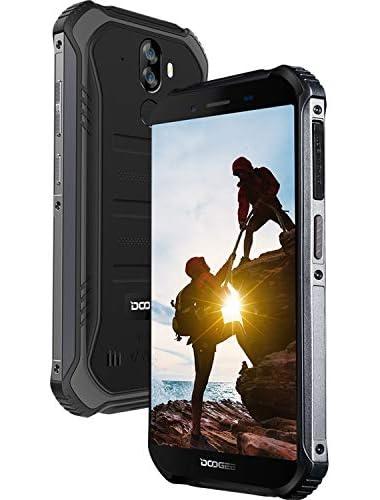 DOOGEE S40 LITE Rugged Smartphone  2019 Android 9 0 Dual SIM Free Mobile Phones Unlocked 2GB RAM 16GB ROM 5 5 inch IP68 IP69K Waterproof Smartphone  4650mAh Quad-Core 8MP 5MP Dual Cameras  Black