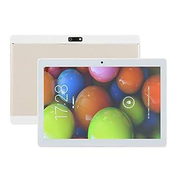 Aleseaes 3G PC Tablet LESHP KT107 10.1 Pulgadas para Android 6.0 2 + 16G Panel Computer [EU Plug] Gold: Amazon.es: Hogar