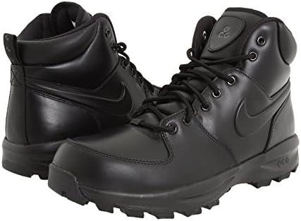 メンズブーツ・靴 Manoa Leather Black/Black/Black 8 (26cm) D - Medium