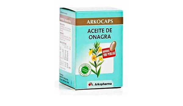 ARKOCAPSULAS ACEITE DE ONAGRA 100 CAPS.: Amazon.es: Belleza