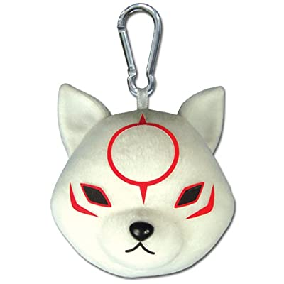 Great Eastern Entertainment Okami Den - Chibiterasu Plush Keychain: Toys & Games