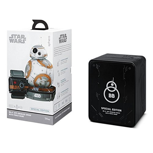 Sphero Battle-Worn Bb-8 Droid with Force Band By Star Wars