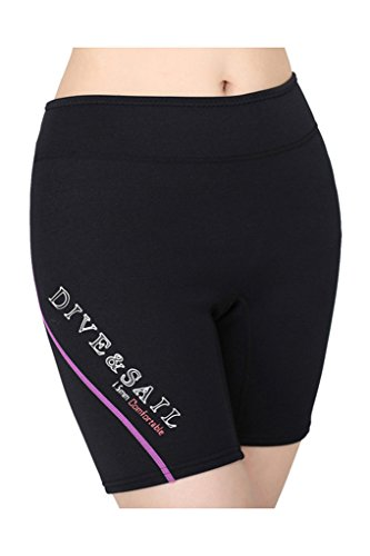 Women's Swim Tights Wetsuit Shorts Trunks Diving Pant 1.5 mm - Wetsuit Ladies Shorts
