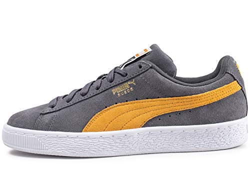 Buck Puma Adulte Suede Mixte Classic Baskets Basses White Iron 0nnHx6Oq7