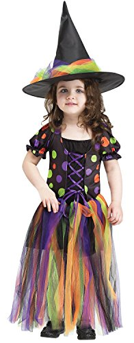 Girls Witchy Witch Costumes (Tatter Witch Queen Toddler Costume)