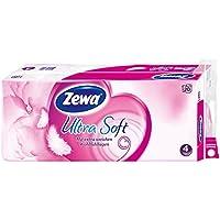 Zewa ultra soft Toilettenpapier, extra weiches WC-Papier 4-lagig mit zuverlässiger Komfortlagen-Qualität, 1 x Vorratspack mit 20 Rollen