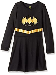 Intimo Big Girls' Batgirl Long Sleeve Roller Derby Gown at Gotham City Store