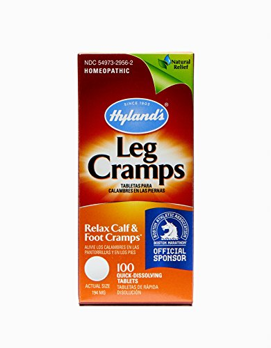 - Leg Cramp Tablets by Hyland's, Natural Relief of Calf, Leg and Foot Cramp, 100 Count