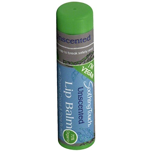 Extra Soothing Balm - Soothing Touch Unscented Vegan Lip Balm, 0.25 Ounce - 12 per case.