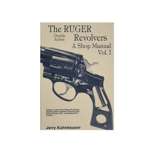 The Ruger double-action revolvers: A shop manual ()