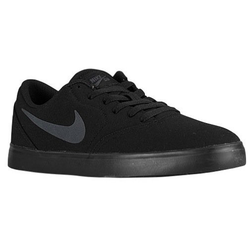 Nike SB Herren Check CNVS Skateschuh Schwarz / Anthrazit