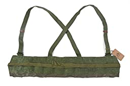 Chinese Military Genuine Surplus SKS Rifle 7.62x39 10 Pocket Chest Pouch Rig Bandoleer Bandolier For Cartridge Ammo Ammunition & Stripper Clips cool shiny