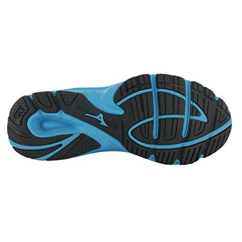 Mizuno Spark Chaussures de course à pied pour femme Bleu/blanc Baskets Sneakers Chaussures de sports