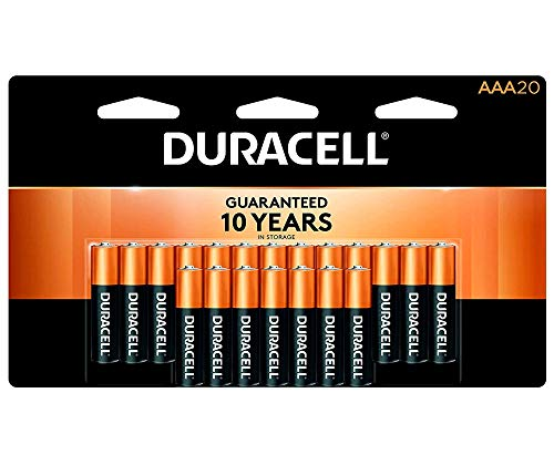 Duracell - CopperTop AAA Alkaline Batteries - long lasting, all-purpose Triple A battery for household and business - 20 Count reviews