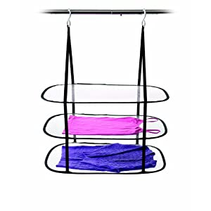 Homz Hanging Sweater Dryer, 3 Tier Drying Surface