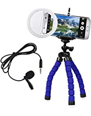Kit Youtuber Celular fone Ring Light Tripé