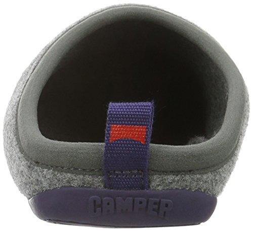 CAMPER Herren Wabi Pantoffeln Grau (Dark Gray 038)