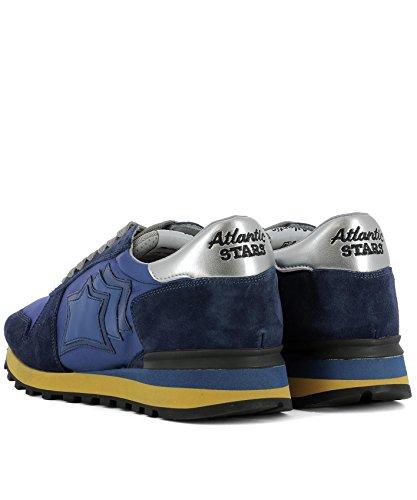 Sneakers ARGOATNYNGBN Tessuto Uomo Atlantic Stars Atlantic Atlantic ARGOATNYNGBN Sneakers Blu Stars Blu Tessuto Uomo Stars H7Uq1q