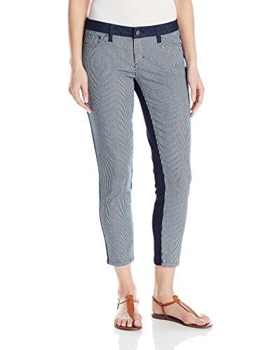 (prAna Women's Jett Capri Pants, Indigo Stripe, Size)
