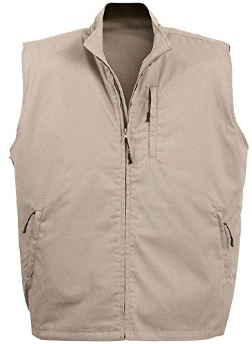 Tactical Travel Vest Concealed Carry Undercover Discreet Secret 11 Pockets Cargo