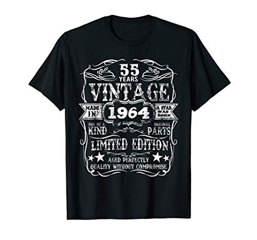 Made In 1964 55 Years Old Vintage 55th Birthday Gift T-Shirt ()