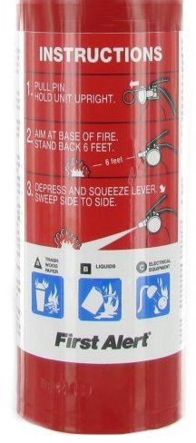 First Alert(BRK) Multi-Purpose Home Fire Extinguisher Sold in packs of 4 by First Alert (Image #3)
