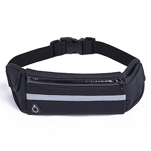 Sports Fanny Belly Waist Bum Pack Bag Fitness Running Jogging Cycling Belt Pouch Review