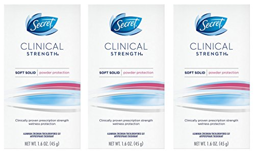 Secret Clinical Strength Smooth Solid Women's Antiperspirant
