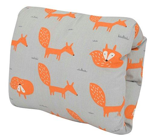 Travel Friendly Slip-on Breast Feeding Pillow Multifunctional Arm Cusion for Breastfeeding or Bottle Feeding (Fox) by Elfjoy by Elfjoy