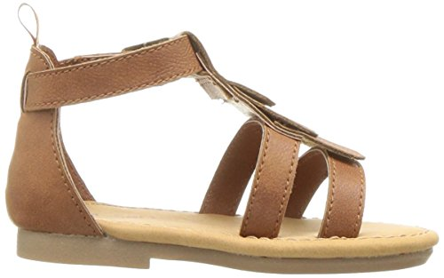 Carter's Girls' Chary Fashion Sandal, Brown, 9 M US Toddler by Carter's (Image #7)