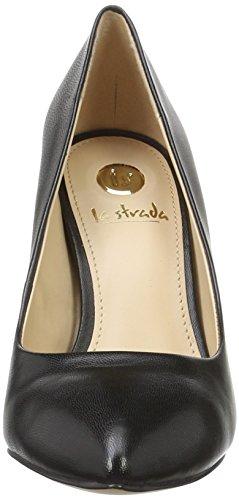 La Strada 806071 - Tacones Mujer Negro - Schwarz (0001 - Leather Black)